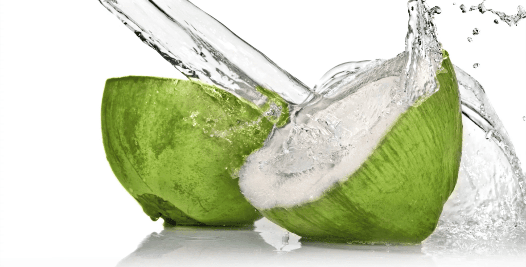 água de coco na dieta